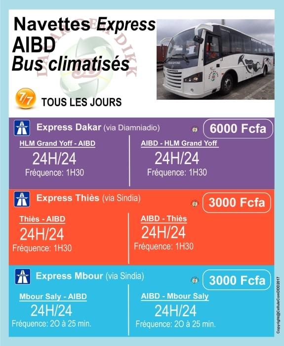 Bus Dakar AIBD