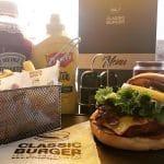 Classic burger Dakar