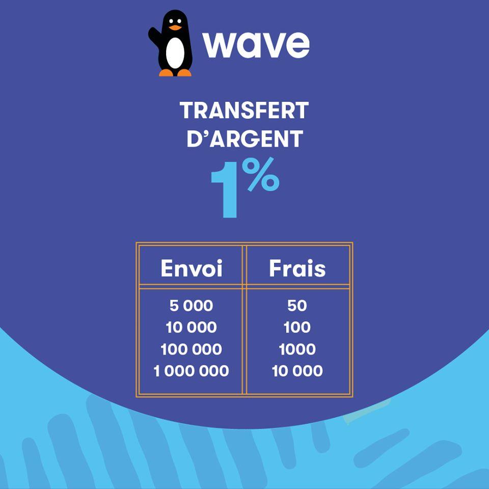 tarif wave Sénégal - Frais wave Sénégal