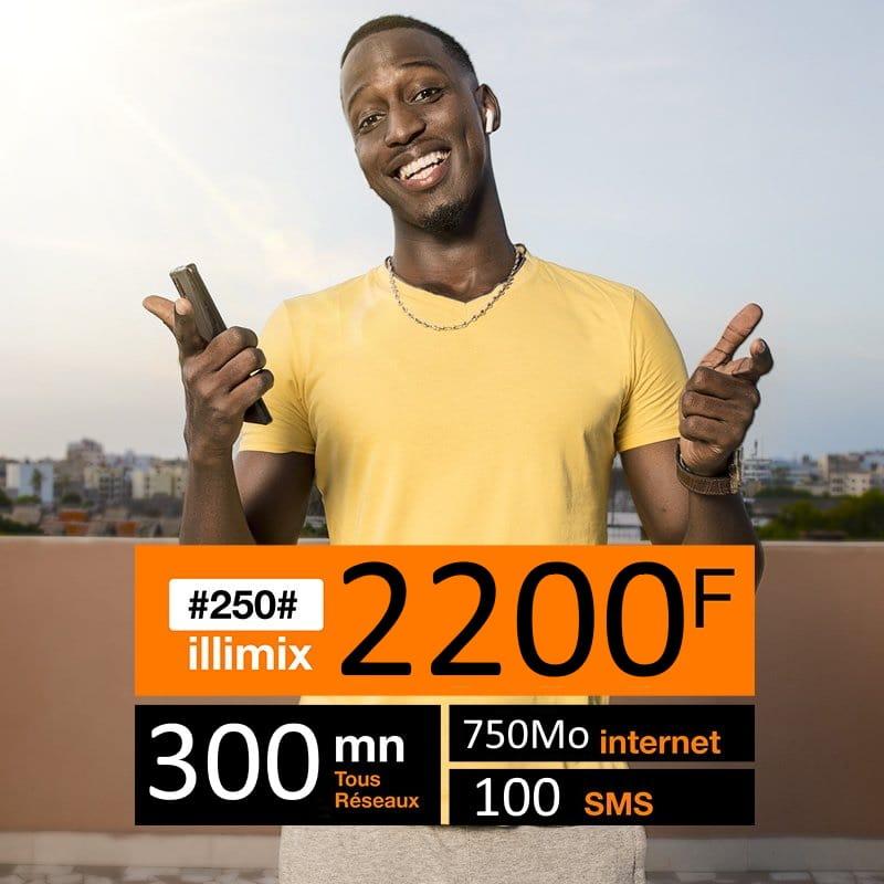 illimix orange 2200