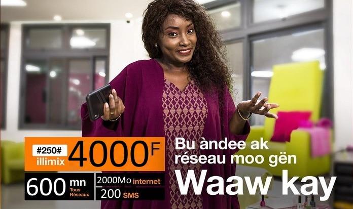 illimix orange 4000 fcfa